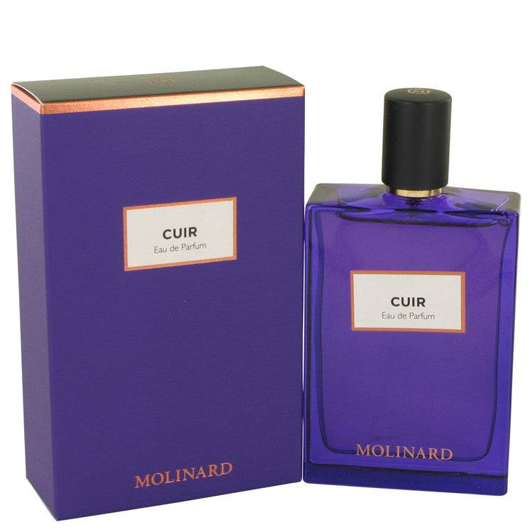 Molinard Cuir by Molinard Eau De Parfum Spray (Unisex) 2.5 oz for Women - rangoutlet.com