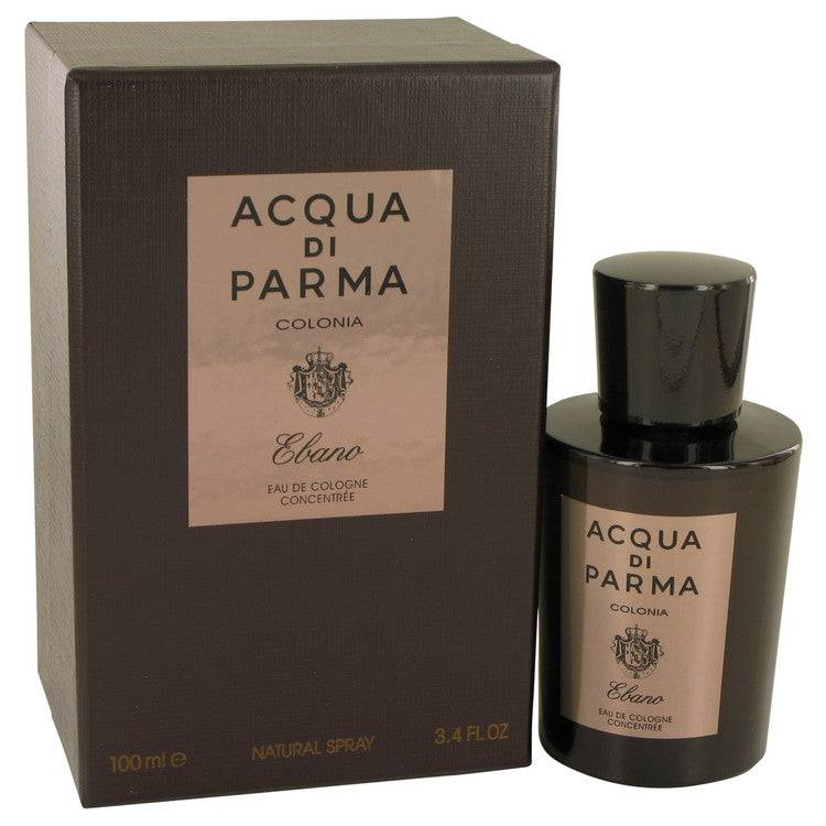 Acqua Di Parma Colonia Ebano by Acqua Di Parma Eau De Cologne Concentree Spray 3.4 oz for Men