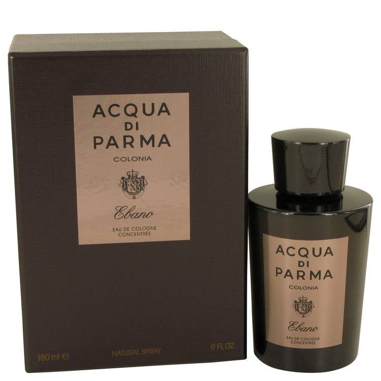 Acqua Di Parma Colonia Ebano by Acqua Di Parma Eau De Cologne Concentree Spray 6 oz for Men - rangoutlet.com