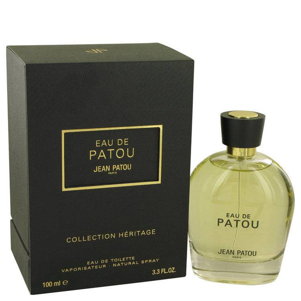 EAU DE PATOU by Jean Patou Eau De Toilette Spray (Heritage Collection Unisex) 3.4 oz for Men