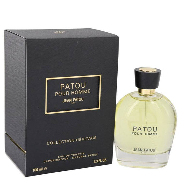 Patou Pour Homme by Jean Patou Eau De Toilette Spray (Heritage Collection) 3.4 oz for Men