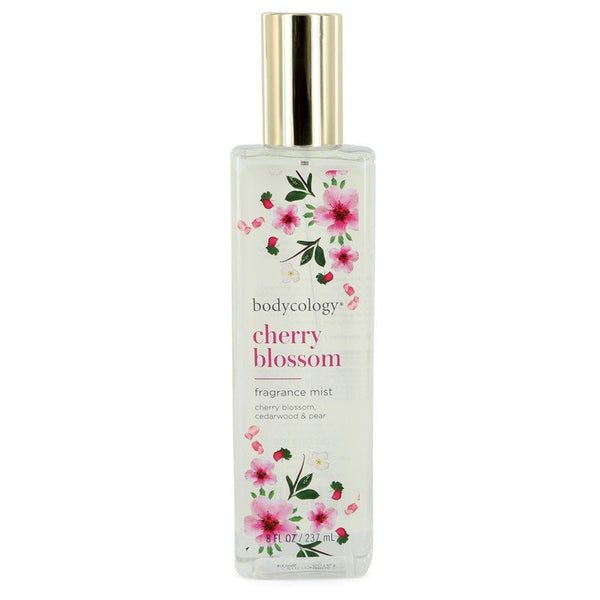 Bodycology Cherry Blossom by Bodycology Fragrance Mist Spray 8 oz for Women - rangoutlet.com