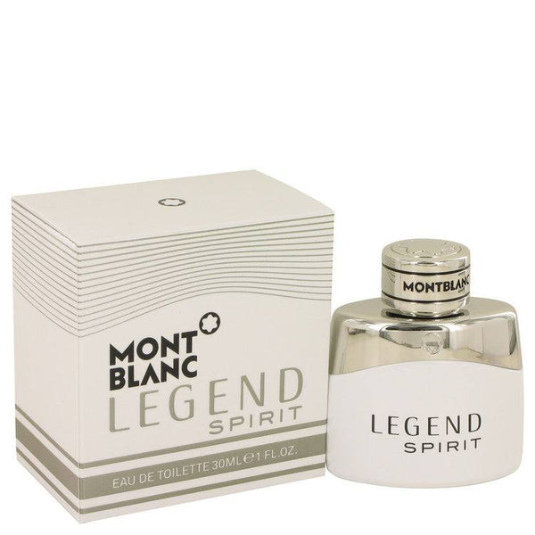 Montblanc Legend Spirit by Mont Blanc Eau De Toilette Spray 1 oz for Men - rangoutlet.com
