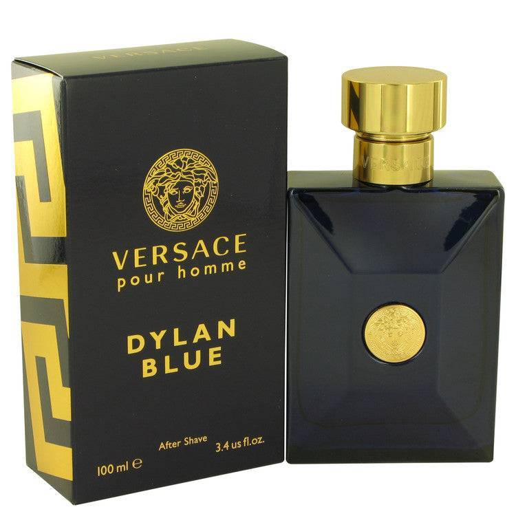 Versace Pour Homme Dylan Blue by Versace After Shave Lotion 3.4 oz for Men - rangoutlet.com