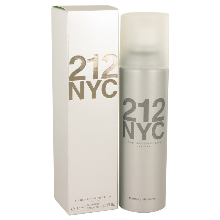 212 by Carolina Herrera Deodorant Spray 5.1 oz for Women - rangoutlet.com
