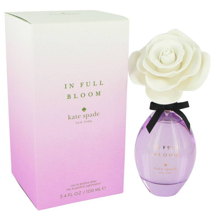 In Full Bloom by Kate Spade Eau De Parfum Spray 3.4 oz for Women - rangoutlet.com