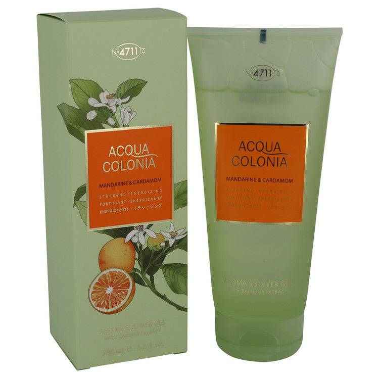 4711 Acqua Colonia Mandarine & Cardamom by Maurer & Wirtz Shower gel 6.8 oz for Women - rangoutlet.com