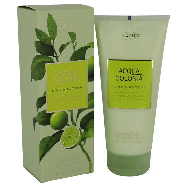 4711 Acqua Colonia Lime & Nutmeg by Maurer & Wirtz Body Lotion 6.8 oz for Women - rangoutlet.com
