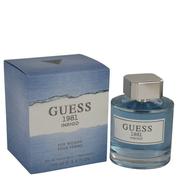 Guess 1981 Indigo by Guess Eau De Toilette Spray 3.4 oz for Women - rangoutlet.com