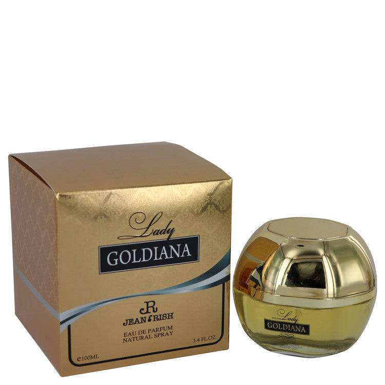 Lady Goldiana by Jean Rish Eau De Parfum Spray 3.4 oz for Women - rangoutlet.com