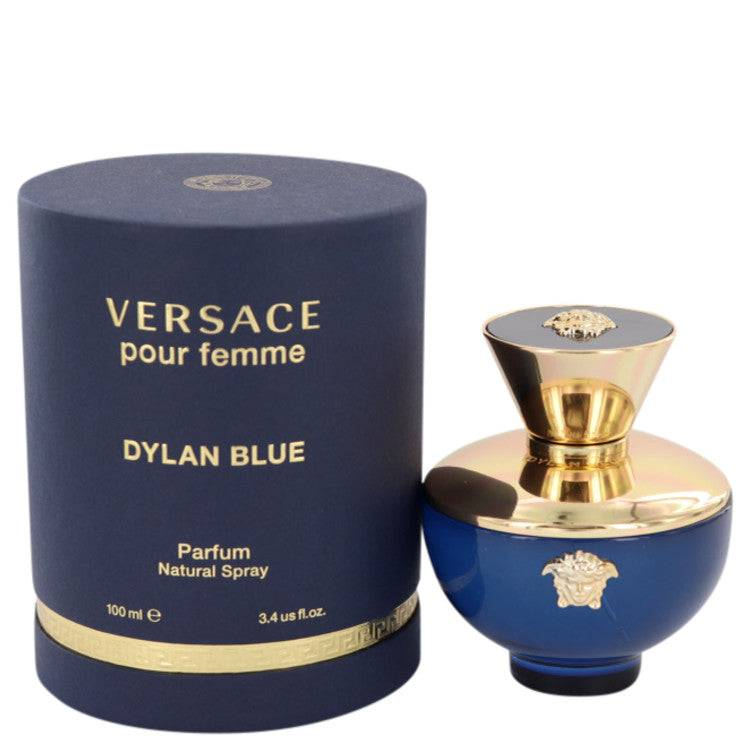 Versace Pour Femme Dylan Blue by Versace Eau De Parfum Spray 3.4 oz for Women - rangoutlet.com