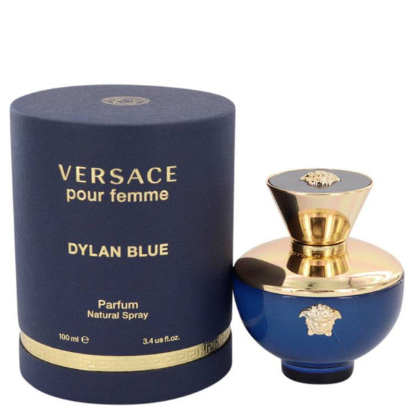 Versace Pour Femme Dylan Blue by Versace Eau De Parfum Spray 3.4 oz for Women