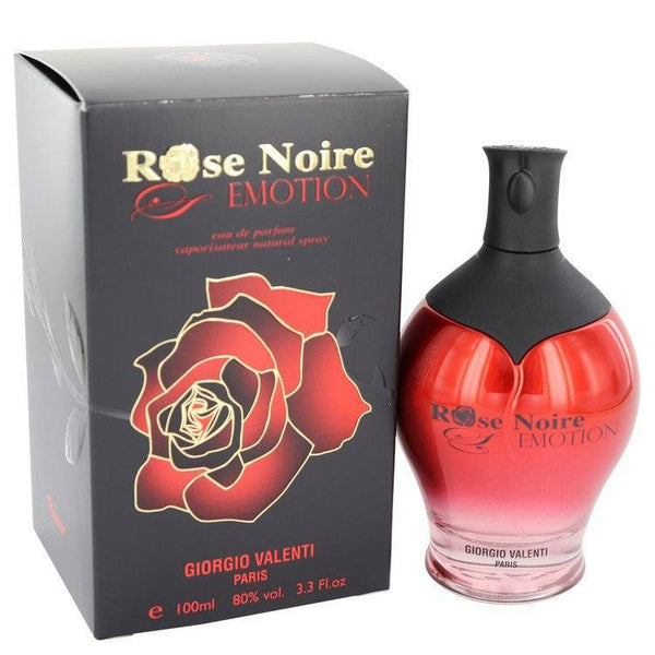 Rose Noire Emotion by Giorgio Valenti Eau De Parfum Spray 3.3 oz for Women