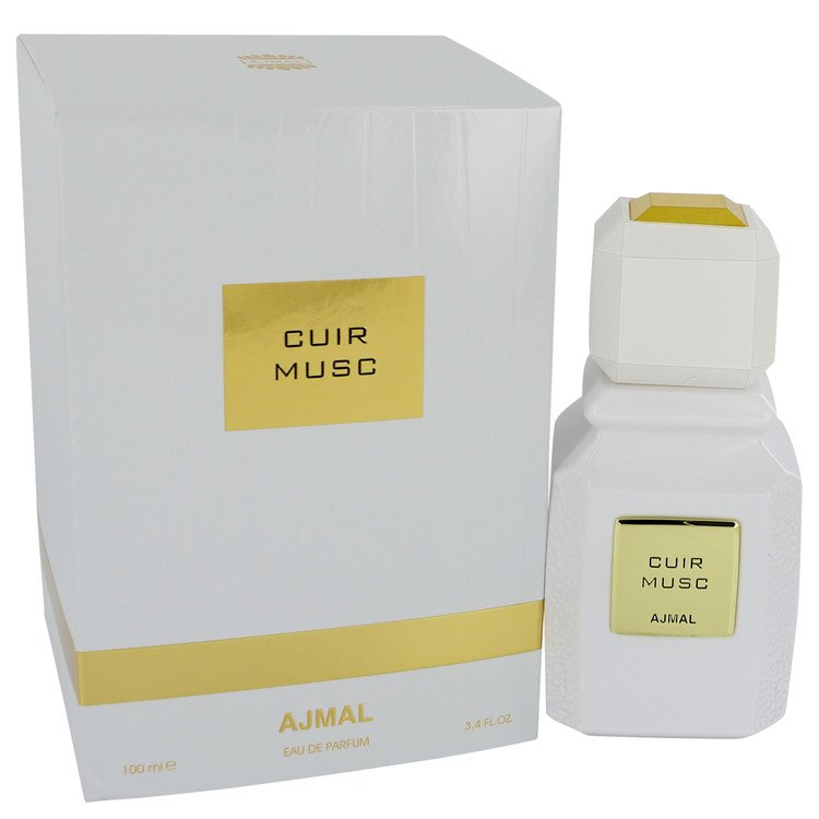 Ajmal Cuir Musc by Ajmal Eau De Parfum Spray (Unisex) 3.4 oz for Women - rangoutlet.com