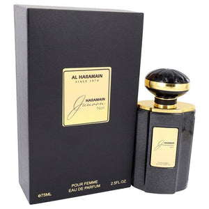Al Haramain Junoon Noir by Al Haramain Eau De Parfum Spray 2.5 oz for Women - rangoutlet.com