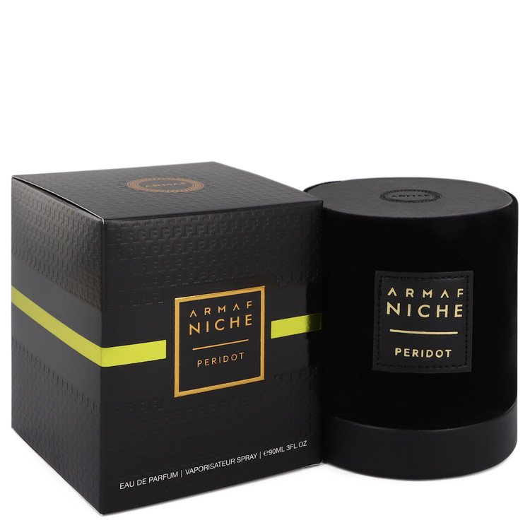 Armaf Niche Peridot by Armaf Eau De Parfum Spray (Unisex) 3 oz for Women - rangoutlet.com