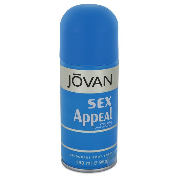 Sex Appeal by Jovan Deodorant Spray 5 oz for Men - rangoutlet.com