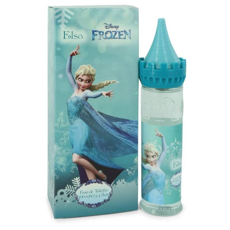 Disney Frozen Elsa by Disney Eau De Toilette Spray (Castle Packaging) 3.4 oz for Women - rangoutlet.com