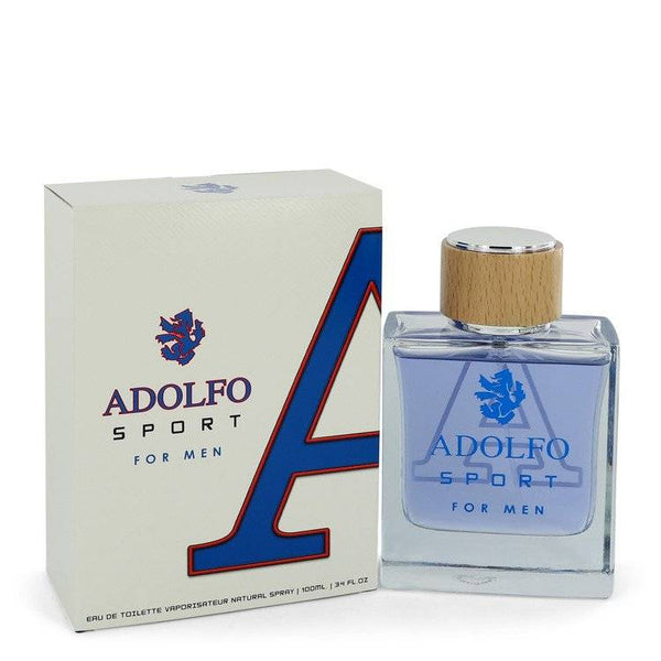 Adolfo Sport by Adolfo Eau De Toilette Spray 3.4 oz for Men