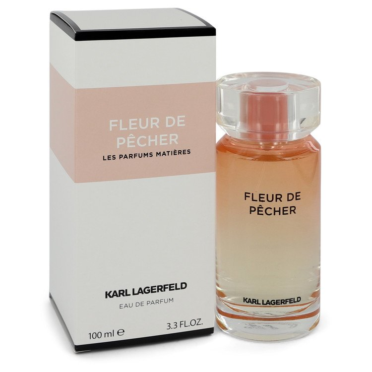 Fleur De Pecher by Karl Lagerfeld Eau De Parfum Spray 3.3 oz for Women - rangoutlet.com