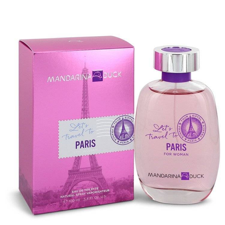 Mandarina Duck Let's Travel to Paris by Mandarina Duck Eau De Toilette Spray 3.4 oz for Women - rangoutlet.com