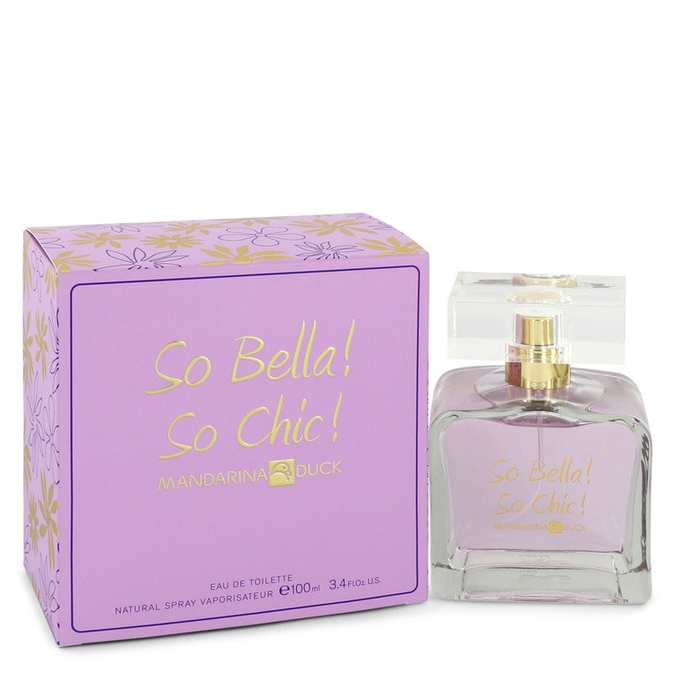 So Bella! So Chic! by Mandarina Duck Eau De Toilette Spray 3.4 oz for Women