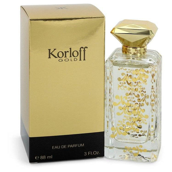 Korloff Gold by Korloff Eau De Parfum Spray 3 oz for Women - rangoutlet.com