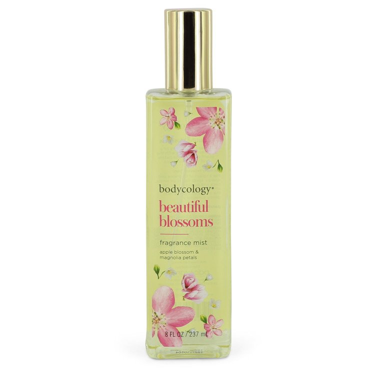 Bodycology Beautiful Blossoms by Bodycology Fragrance Mist Spray 8 oz for Women - rangoutlet.com
