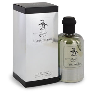 Original Penguin Signature Blend by Original Penguin Eau De Toilette Spray 3.4 oz for Men - rangoutlet.com
