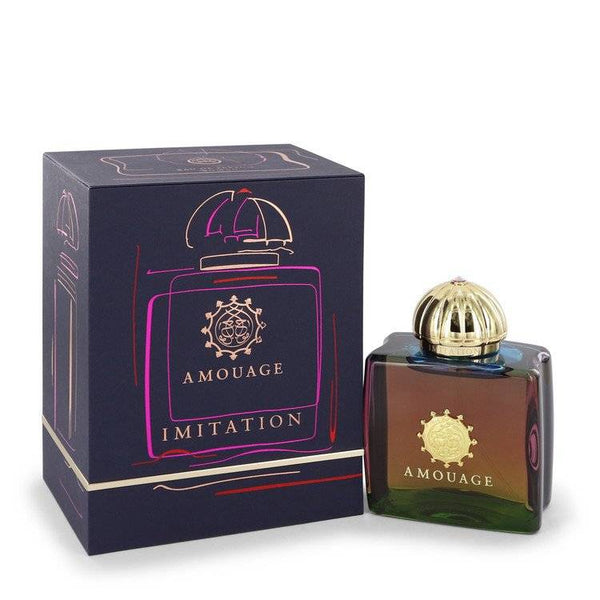Amouage Imitation by Amouage Eau De Parfum Spray 3.4 oz for Women - rangoutlet.com