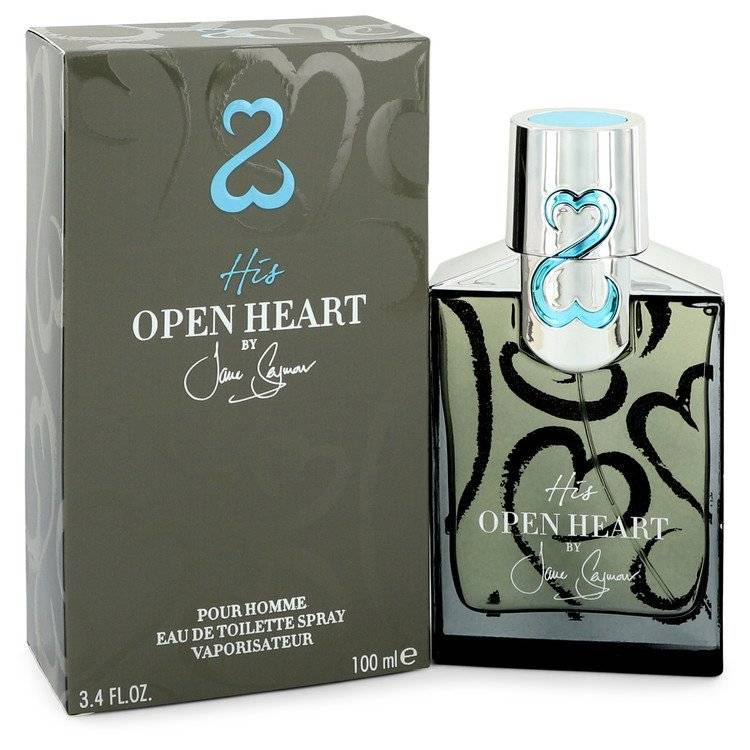 His Open Heart by Jane Seymour Eau De Toilette Spray 3.4 oz for Men - rangoutlet.com