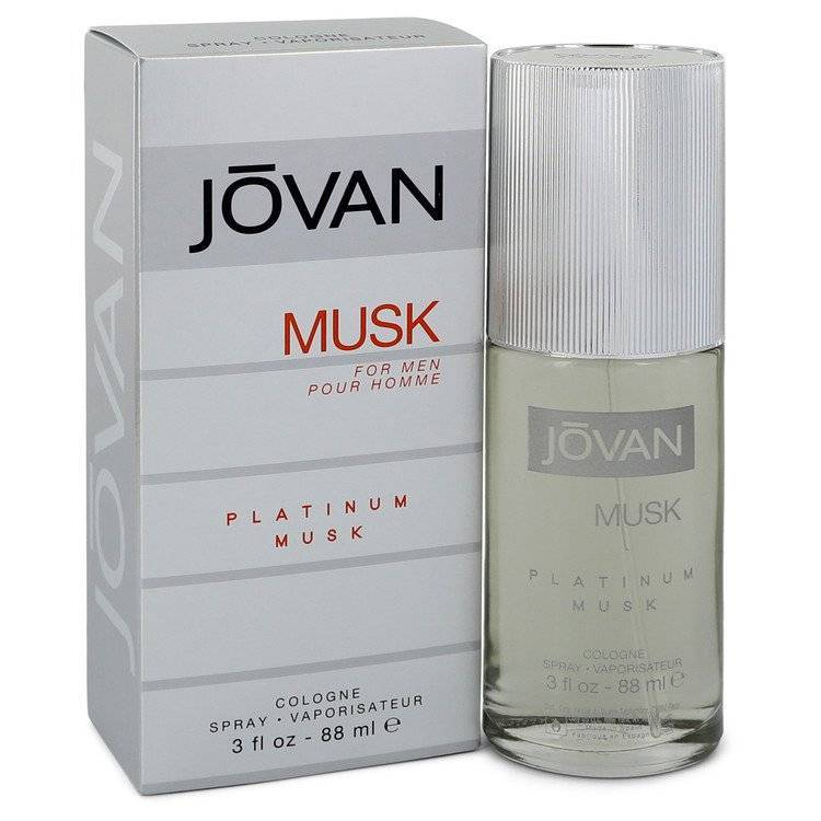 Jovan Platinum Musk by Jovan Cologne Spray 3 oz for Men