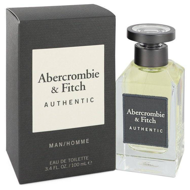 Abercrombie & Fitch Authentic by Abercrombie & Fitch Eau De Toilette Spray 3.4 oz for Men - rangoutlet.com