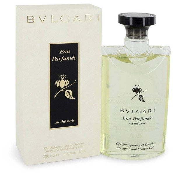 Bvlgari Eau Parfumee Au The Noir by Bvlgari Shower Gel 6.8 oz  for Women - rangoutlet.com