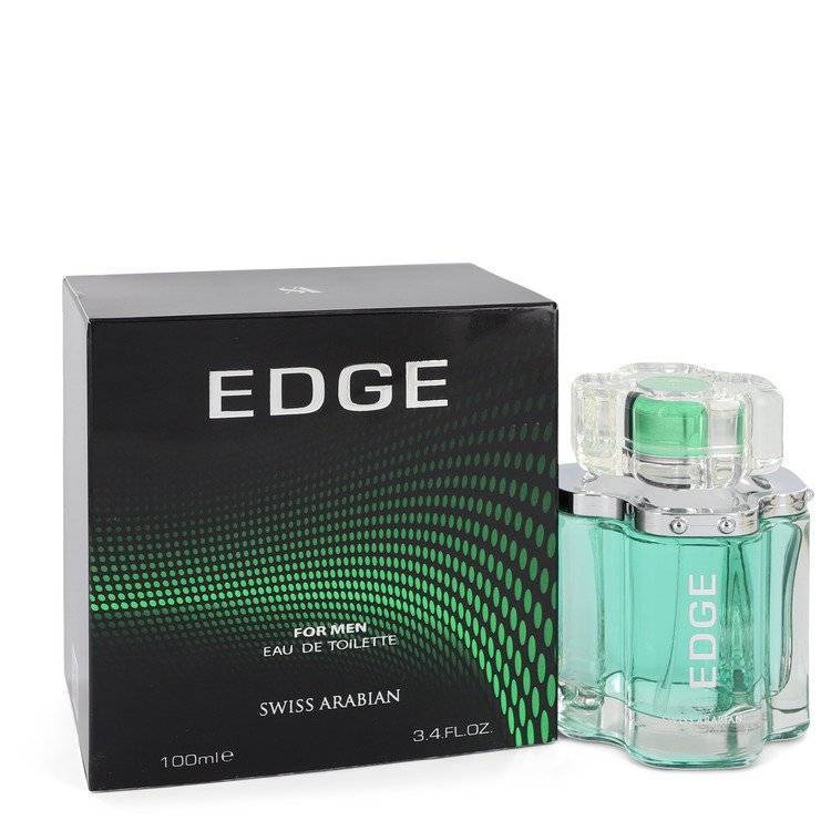 Swiss Arabian Edge by Swiss Arabian Eau De Toilette Spray 3.4 oz for Men - rangoutlet.com
