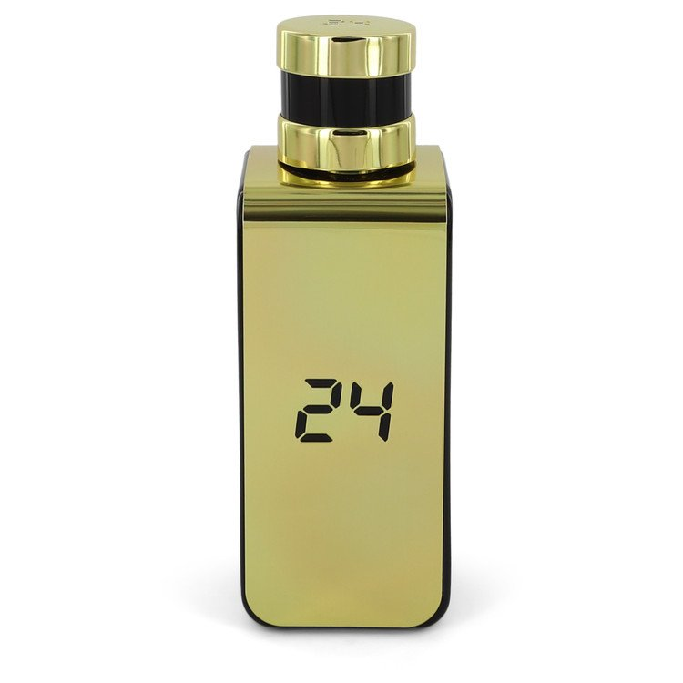 24 Gold Elixir by ScentStory Eau De Parfum Spray (unboxed) 3.4 oz  for Men