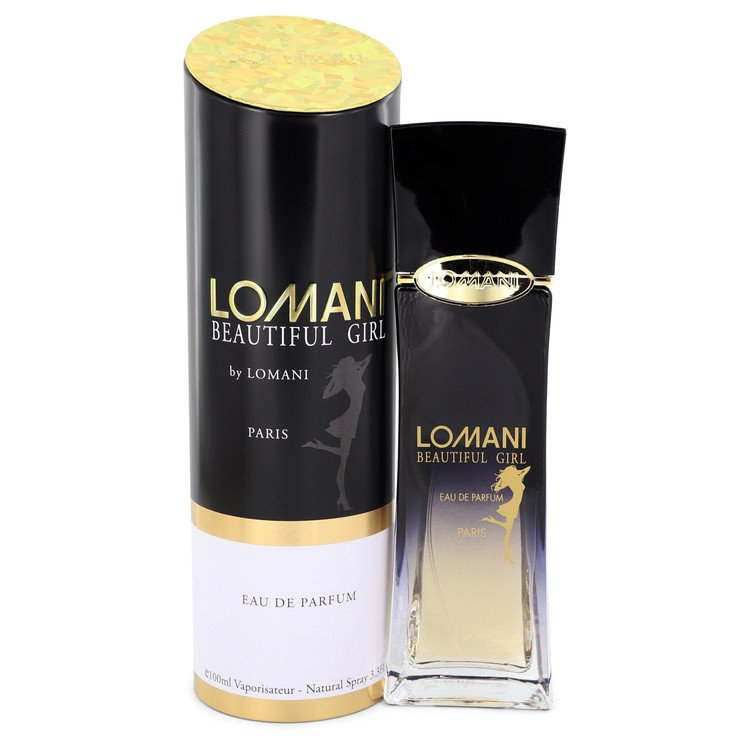 Lomani Beautiful Girl by Lomani Eau De Parfum Spray 3.3 oz for Women - rangoutlet.com
