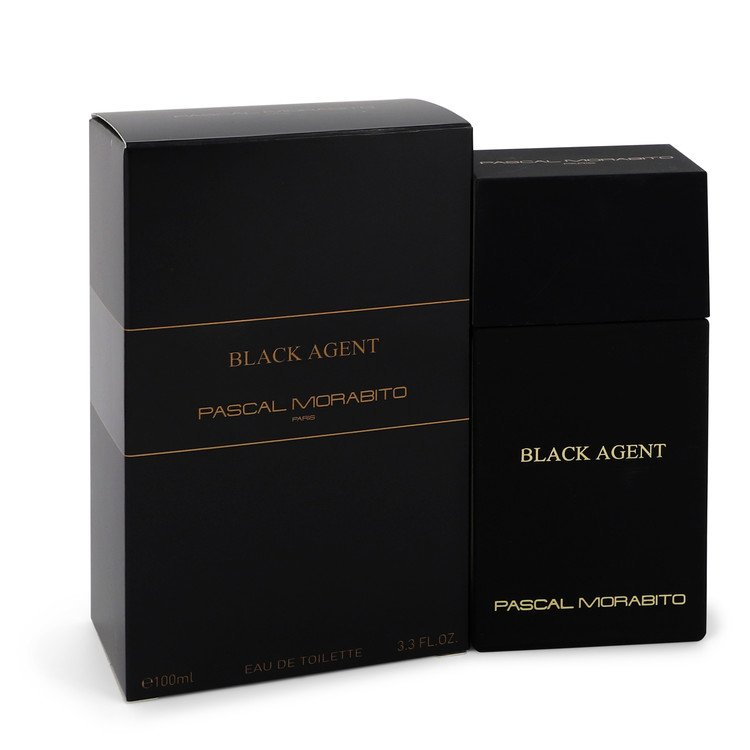 Black Agent by Pascal Morabito Eau De Toilette Spray 3.3 oz for Men - rangoutlet.com