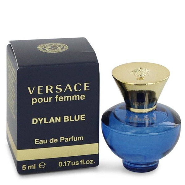 Versace Pour Femme Dylan Blue by Versace Mini EDP .17 oz for Women - rangoutlet.com
