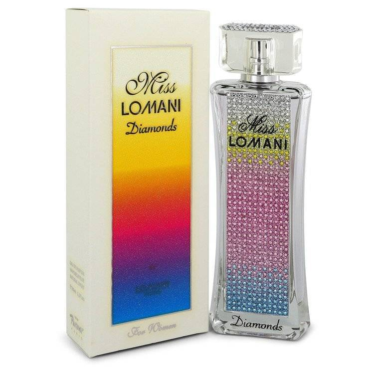 Miss Lomani Diamonds by Lomani Eau De Parfum Spray 3.3 oz for Women - rangoutlet.com