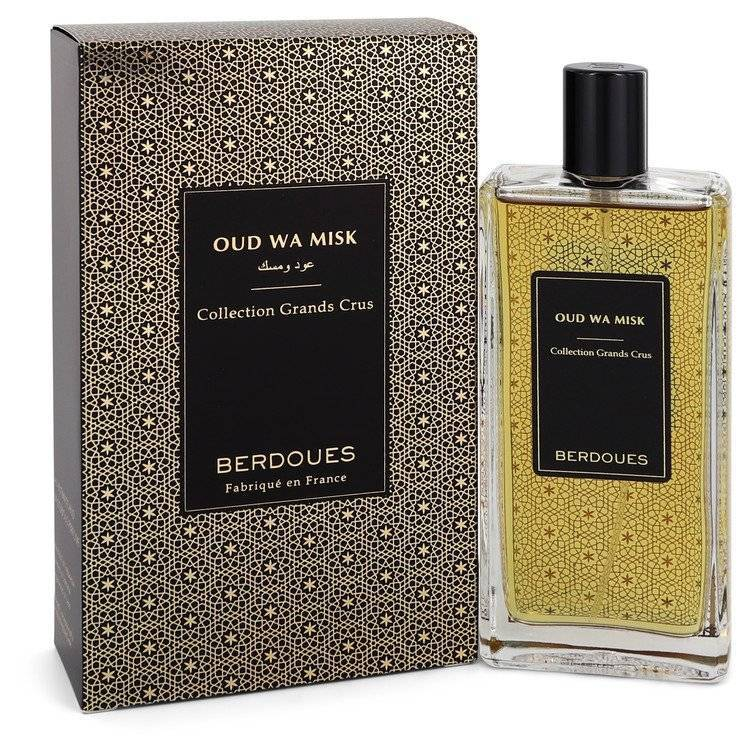Oud Wa Misk by Berdoues Eau De Parfum Spray (Unisex) 3.38 oz for Men - rangoutlet.com