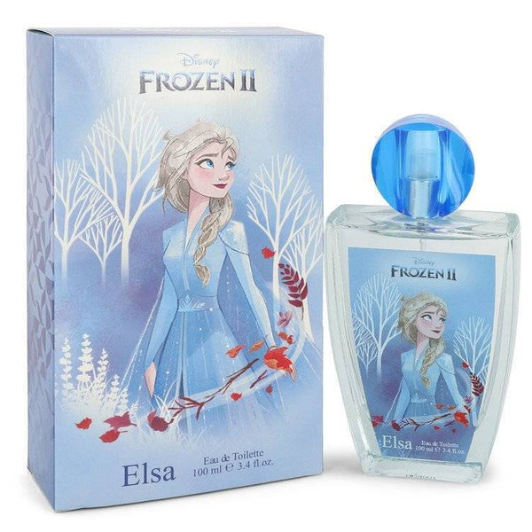Disney Frozen II Elsa by Disney Eau De Toilette Spray 3.4 oz for Women