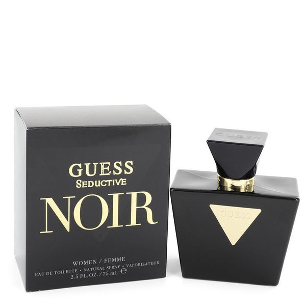 Guess Seductive Noir by Guess Eau De Toilette Spray 2.5 oz for Women - rangoutlet.com