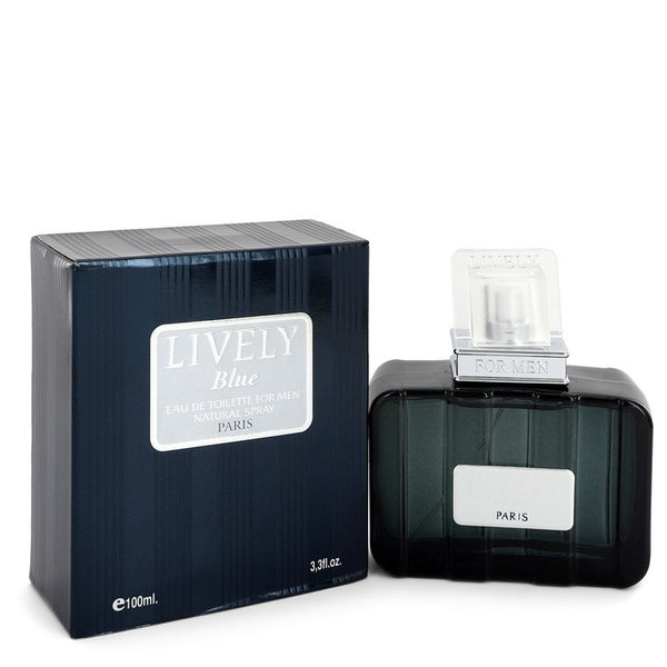 Lively Blue by Parfums Lively Eau De Toilette Spray 3.3 oz for Men