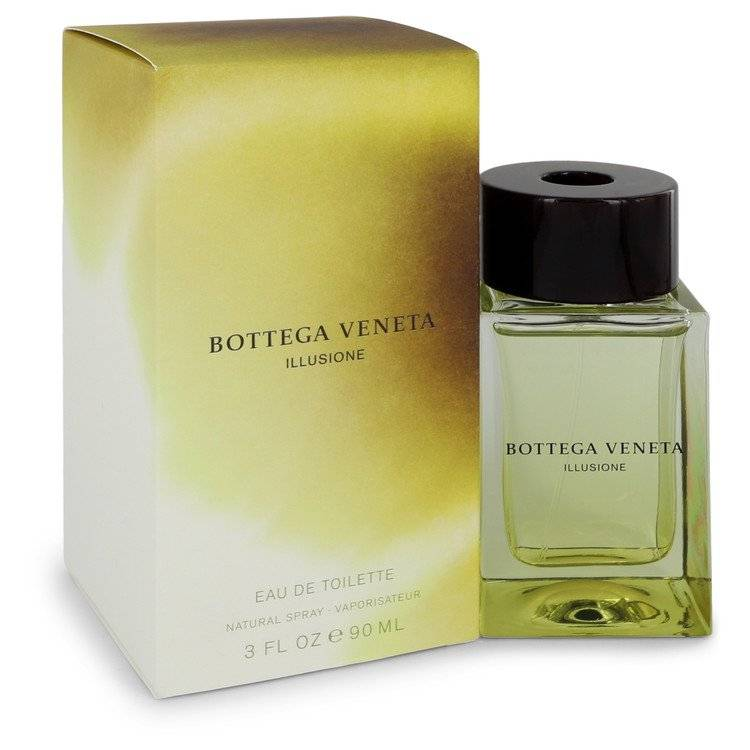 Bottega Veneta Illusione by Bottega Veneta Eau De Toilette Spray 3 oz for Men - rangoutlet.com