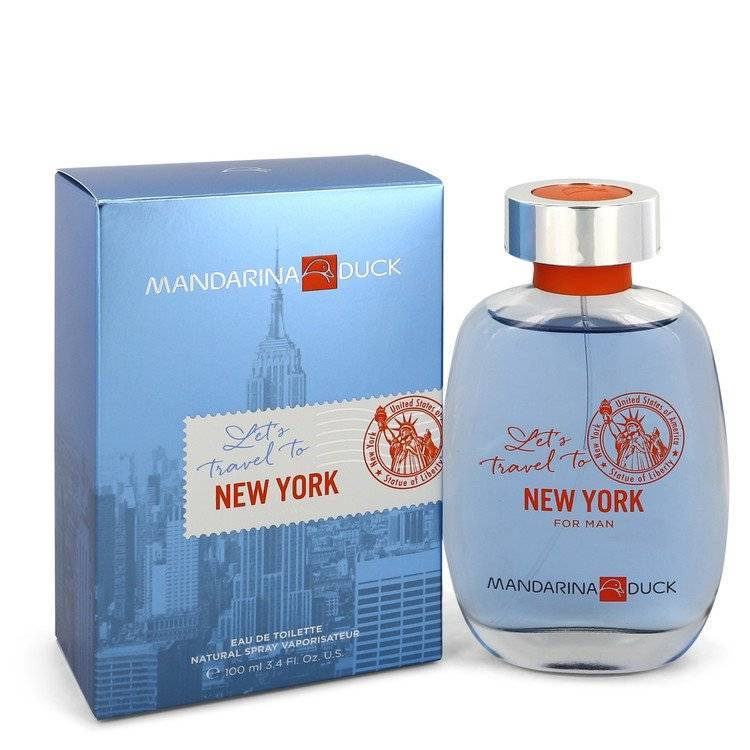 Mandarina Duck Let's Travel to New York by Mandarina Duck Eau De Toilette Spray 3.4 oz for Men - rangoutlet.com