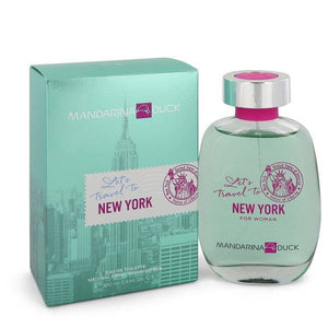 Mandarina Duck Let's Travel to New York by Mandarina Duck Eau De Toilette Spray 3.4 oz for Women - rangoutlet.com