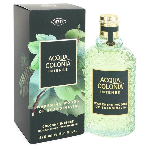 4711 Acqua Colonia Wakening Woods by Maurer & Wirtz Eau De Cologne Intense Spray (Unisex) 5.7 oz  for Women