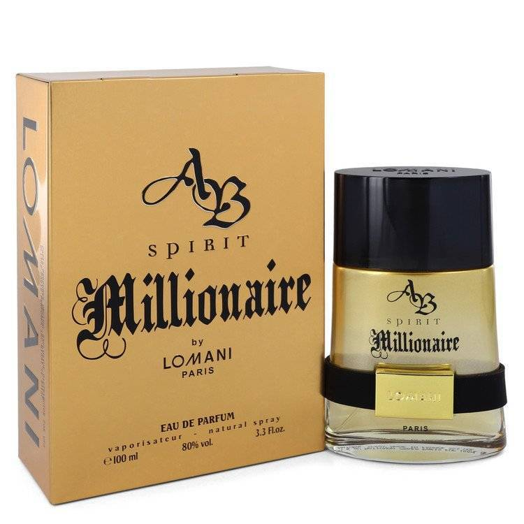 Spirit Millionaire by Lomani Eau De Parfum Spray 3.3 oz  for Men - rangoutlet.com