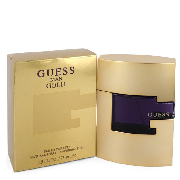 Guess Gold by Guess Eau De Toilette Spray 2.5 oz  for Men - rangoutlet.com